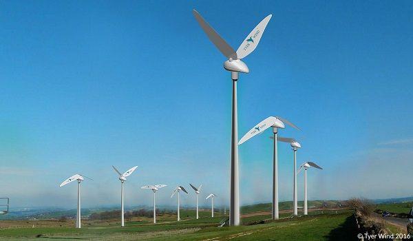 Tyer Wind biomimétisme des éoliennes