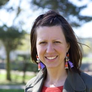 Amandine Mouret, éco-épargnante sur le projet Lumière Nouvelle d'Esnandes